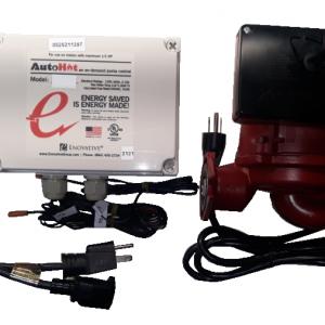 DC099C – AutoHot commercial demand recirculation controller, 99-series pump, 2 temp sensors